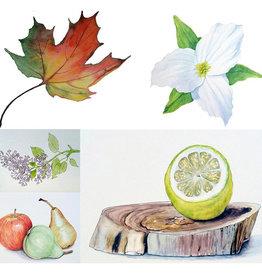 Tamara S Watercolour Level 1 Art Class Fri Nov 5 to Fri Nov 26 1:00  to 3:00 pm