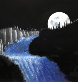 Jim G Acrylic Art Class Mystical Moonrise Sat Oct 30 11 am to 1:00 pm