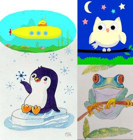 Tamara S Watercolour for kids Art Class Thurs Oct 28 to Thurs Nov 18 6:00 to 7:00 pm