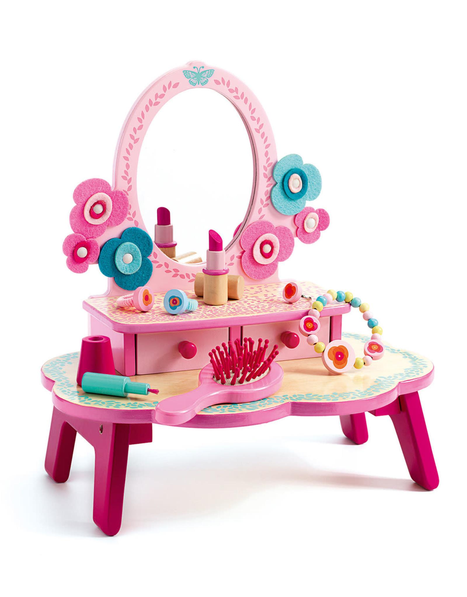 Djeco Flora dress table