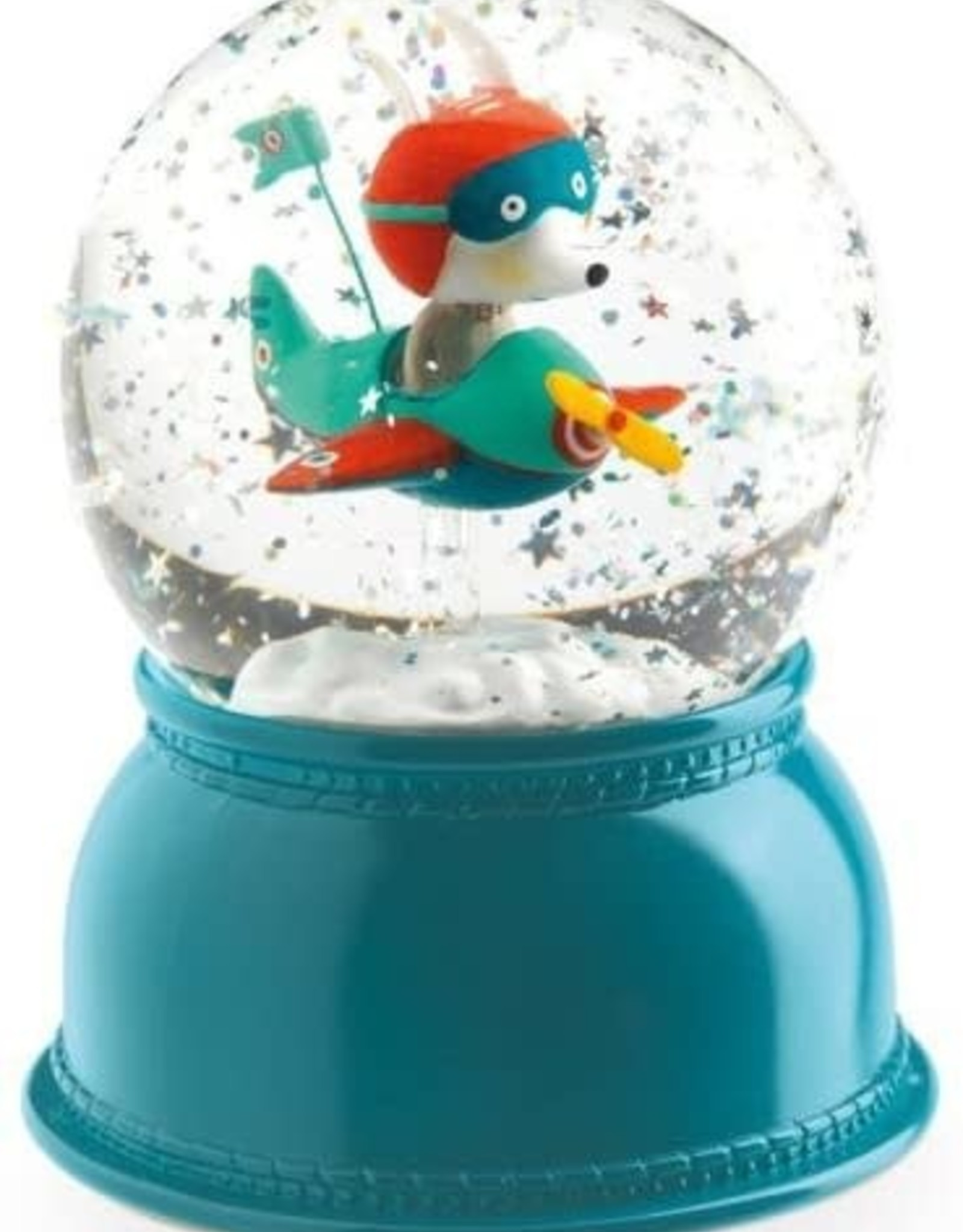 Djeco Snowglobe Nightlights Airplane