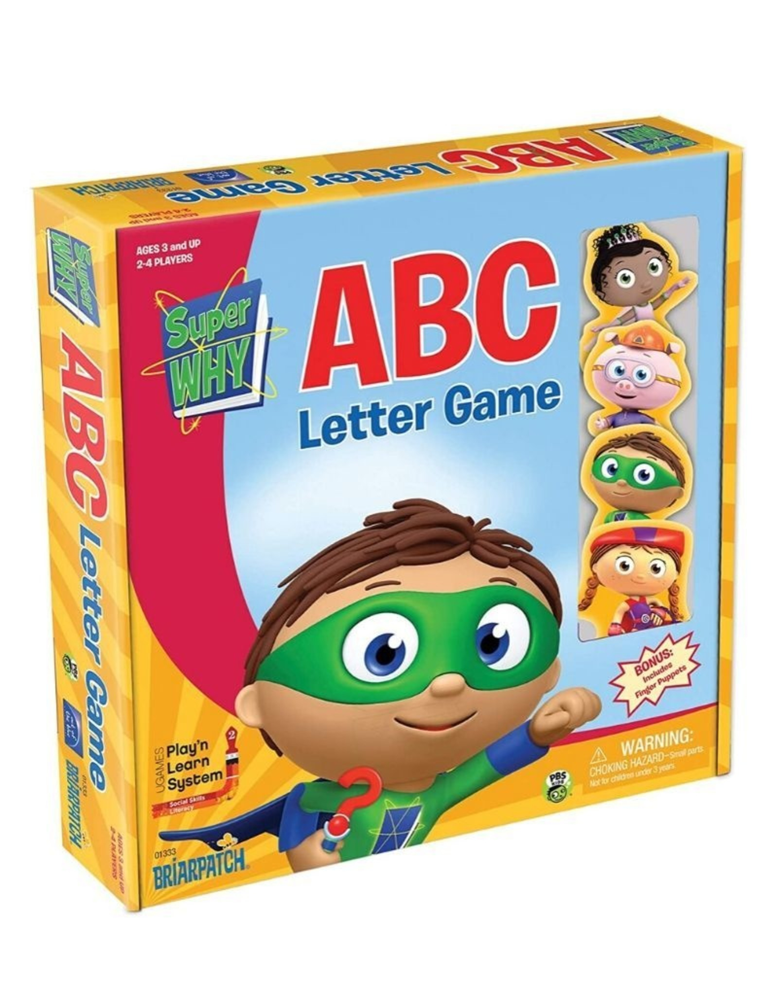 Superwhy ABC Letter game