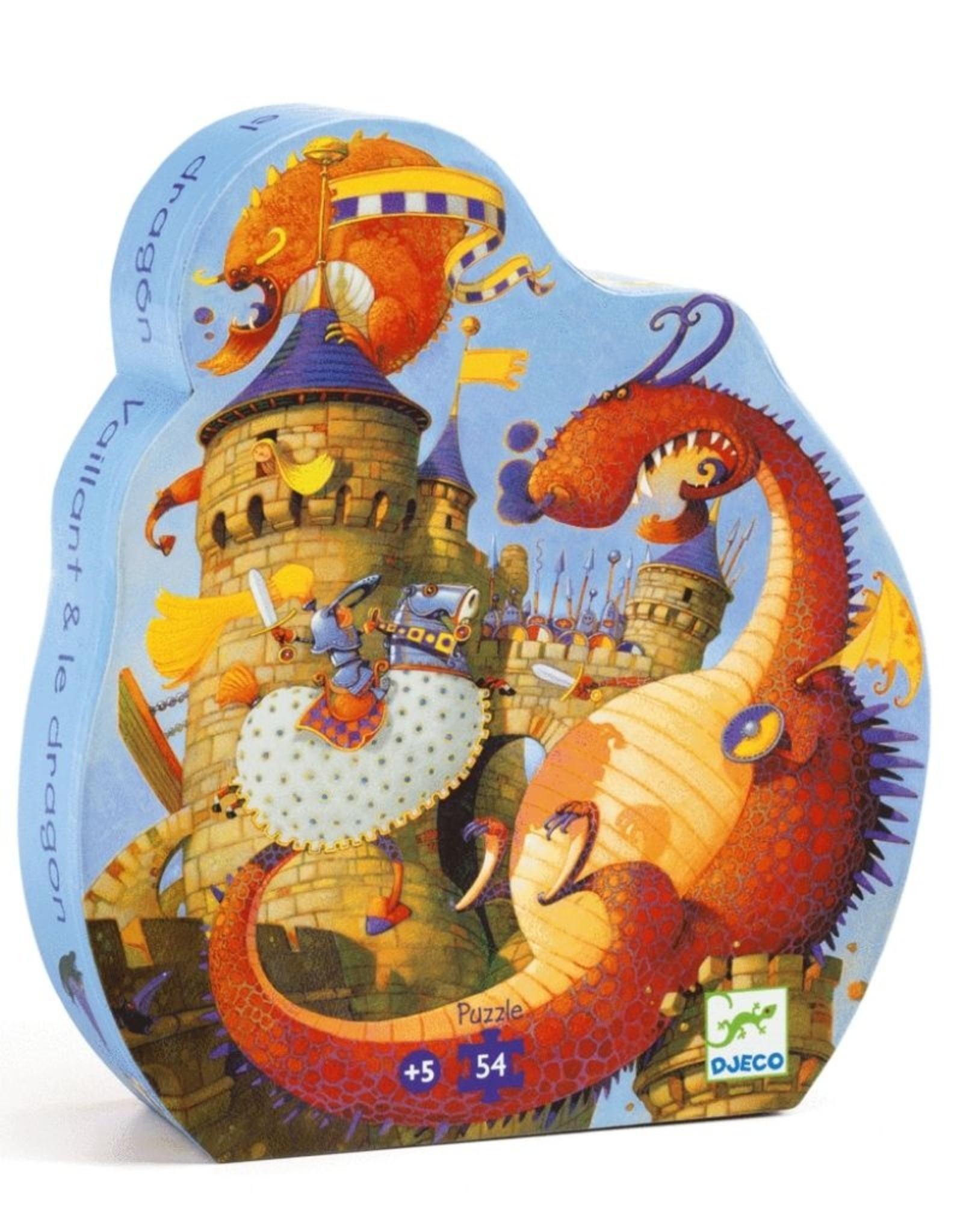 Djeco Silhouette Vaillant and Dragon