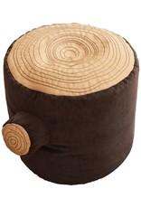 Tree Stump Pouf