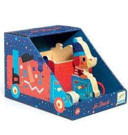 Djeco Push and Pull Toys Jo Truck