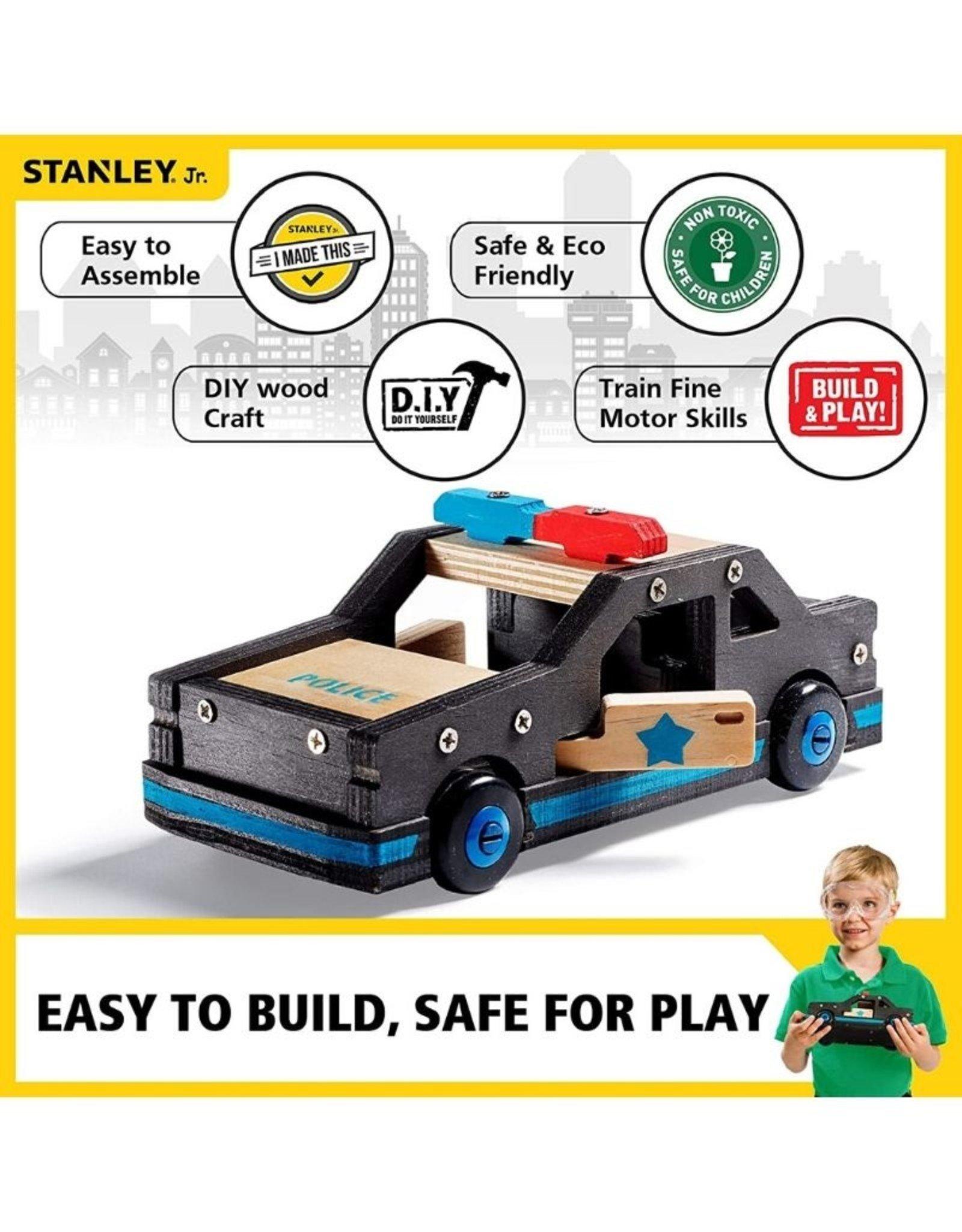 Stanley Jr Police Car Kit