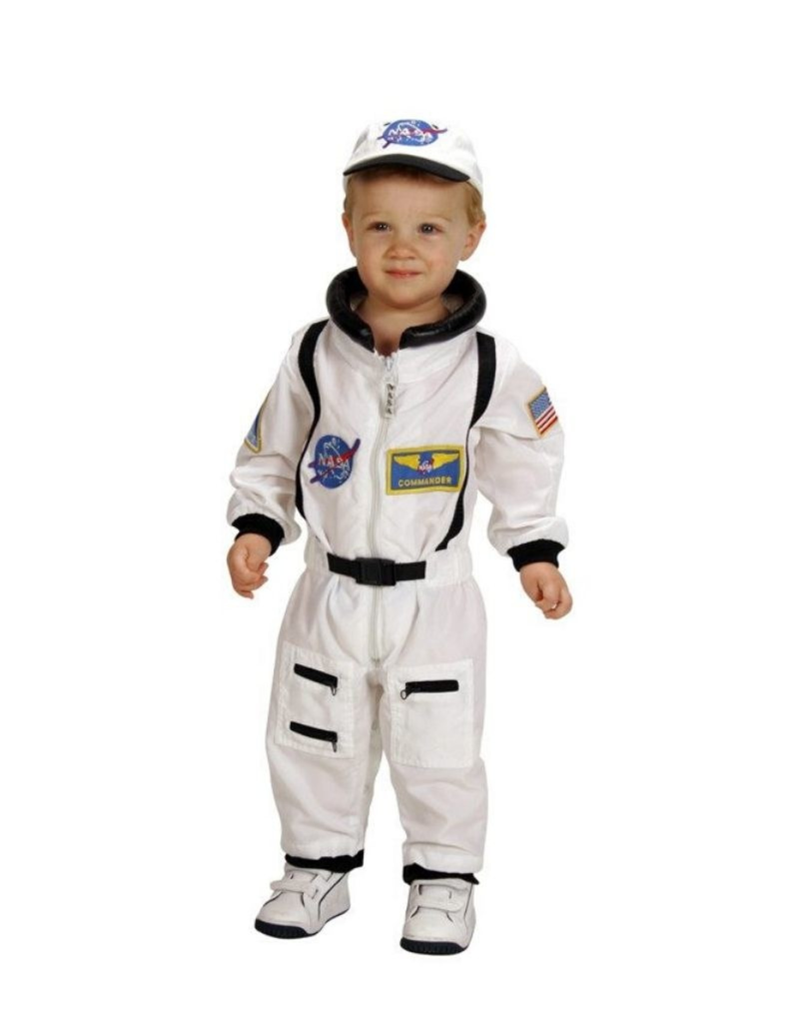 Aeromax Junior  Astronaut Suit White 18M