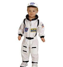 Aeromax Junior  Astronaut Suit White 18M