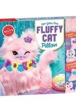 Klutz Fluffy Cat Pillow