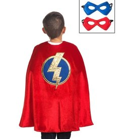 Little Adventures Red Hero Cape and Mask