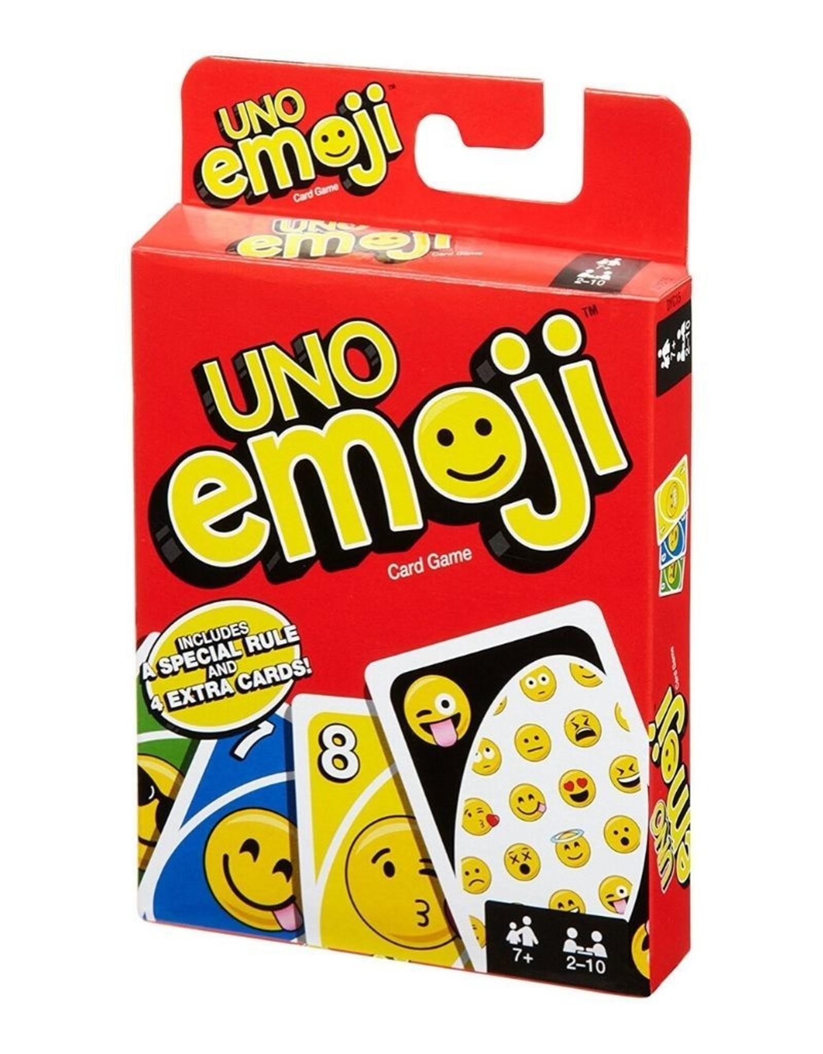 Mattel DYC 15 Emoji UNO