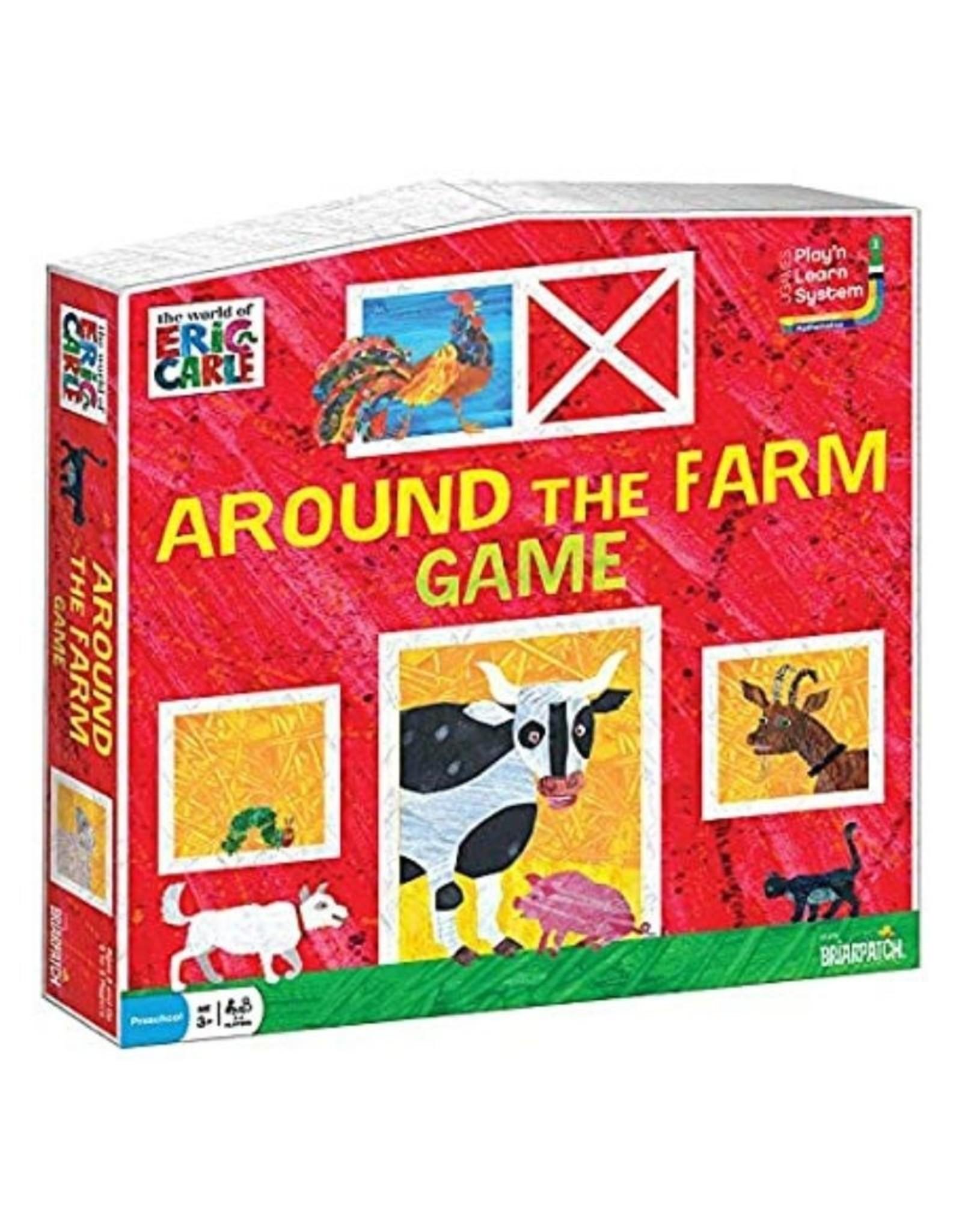 Eric Carle around the farm