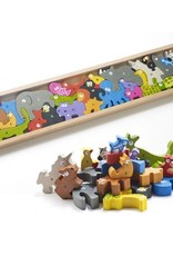 Begin Again Animal Parade A to Z Puzzle