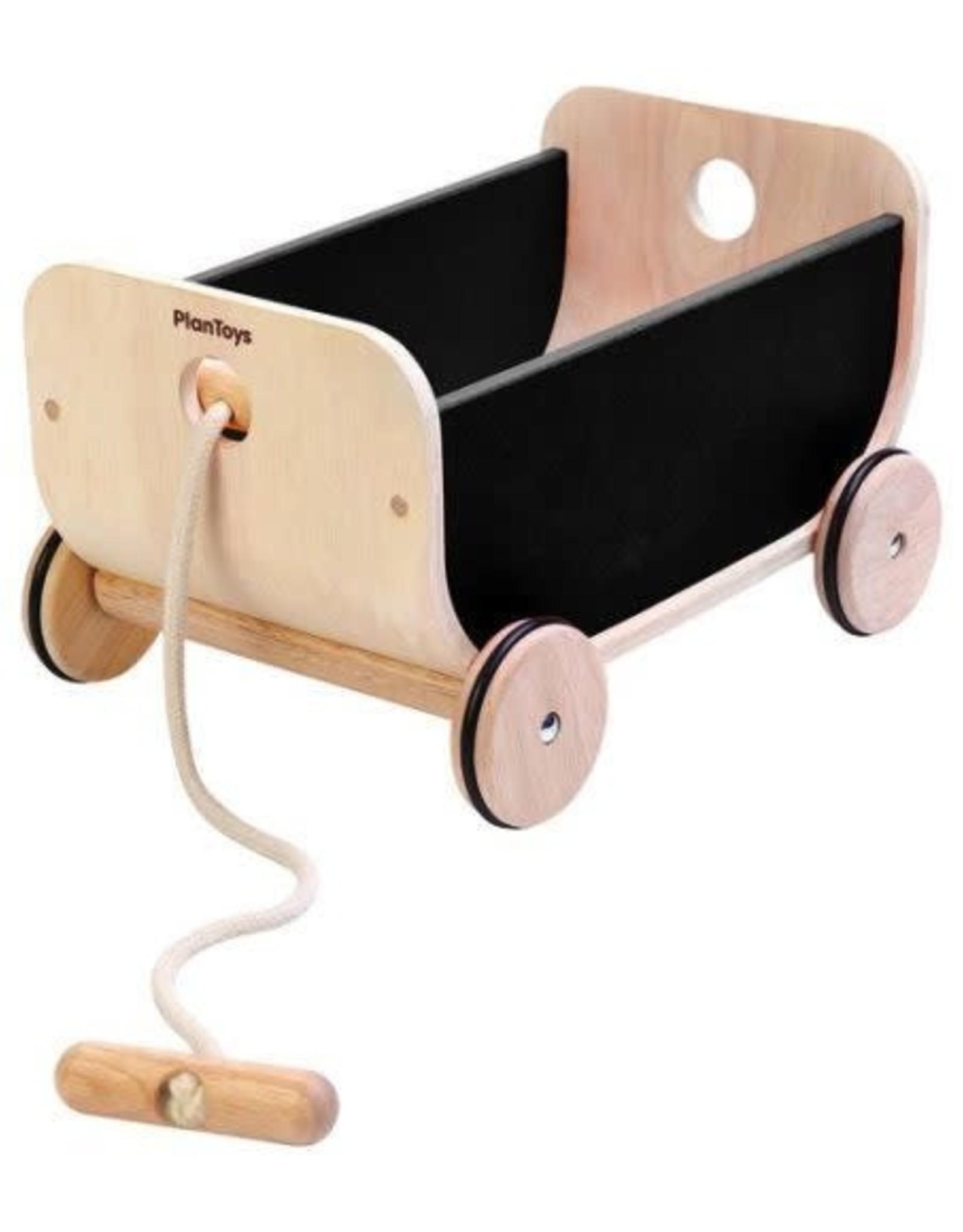 Plan Toys Wagon Black