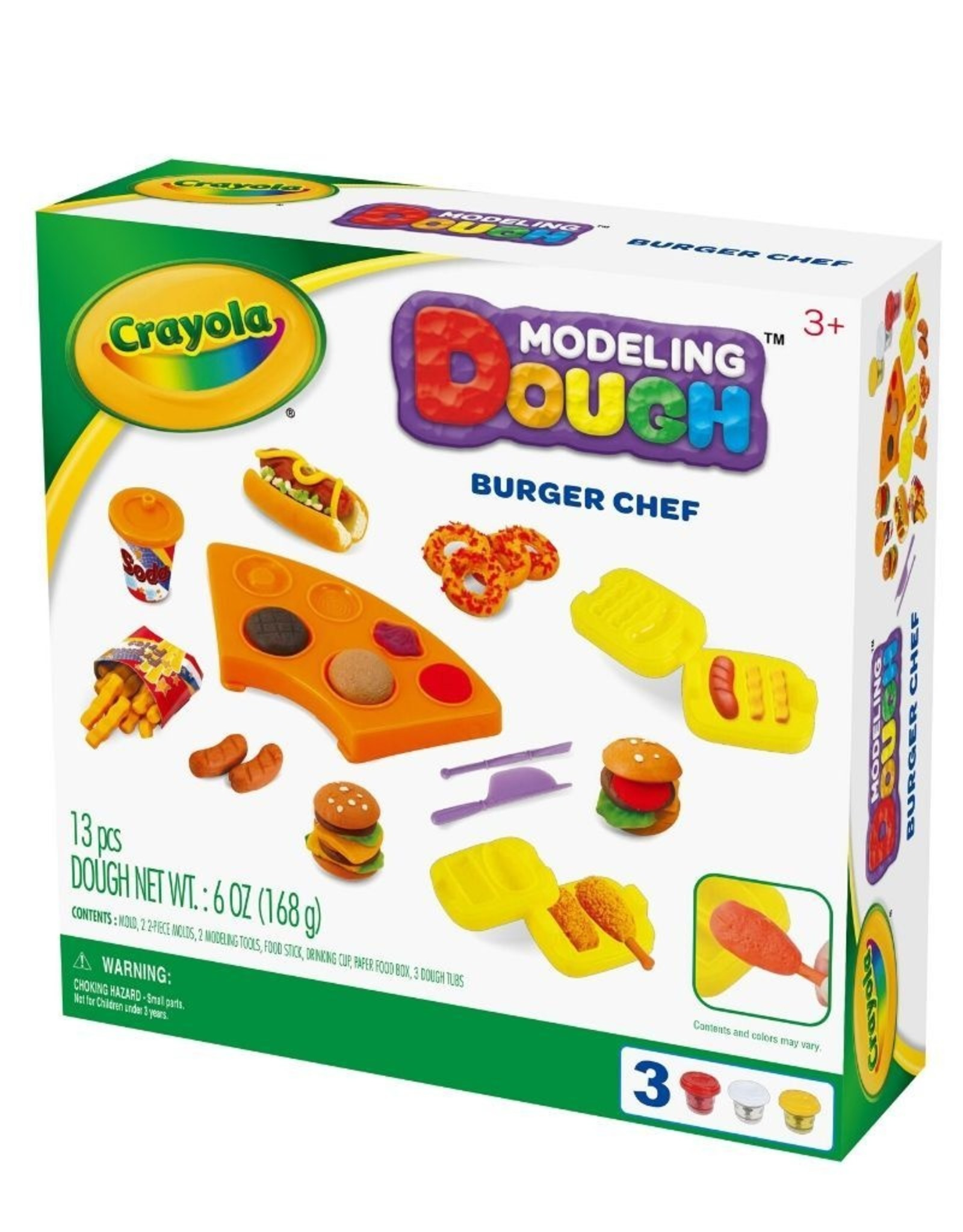 Crayola dough burger
