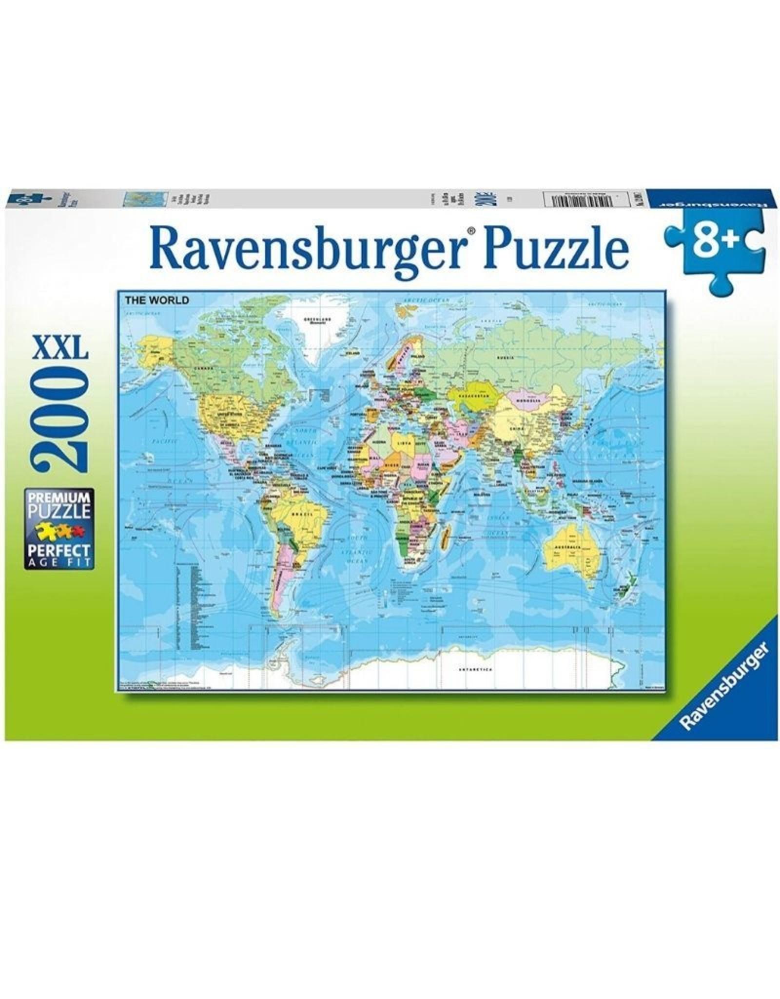 Ravensburger 12890 Map of the World