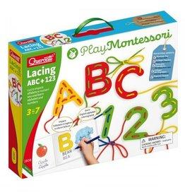 Quercetti Lacing ABC 123