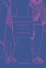 New York Street Style A Coloring Book
