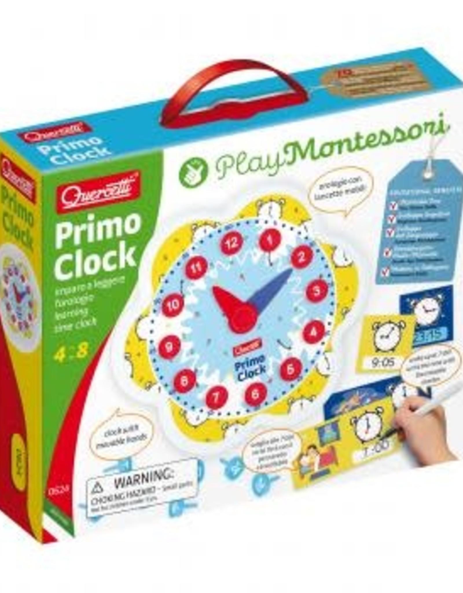 Quercetti Primo Clock Montessori