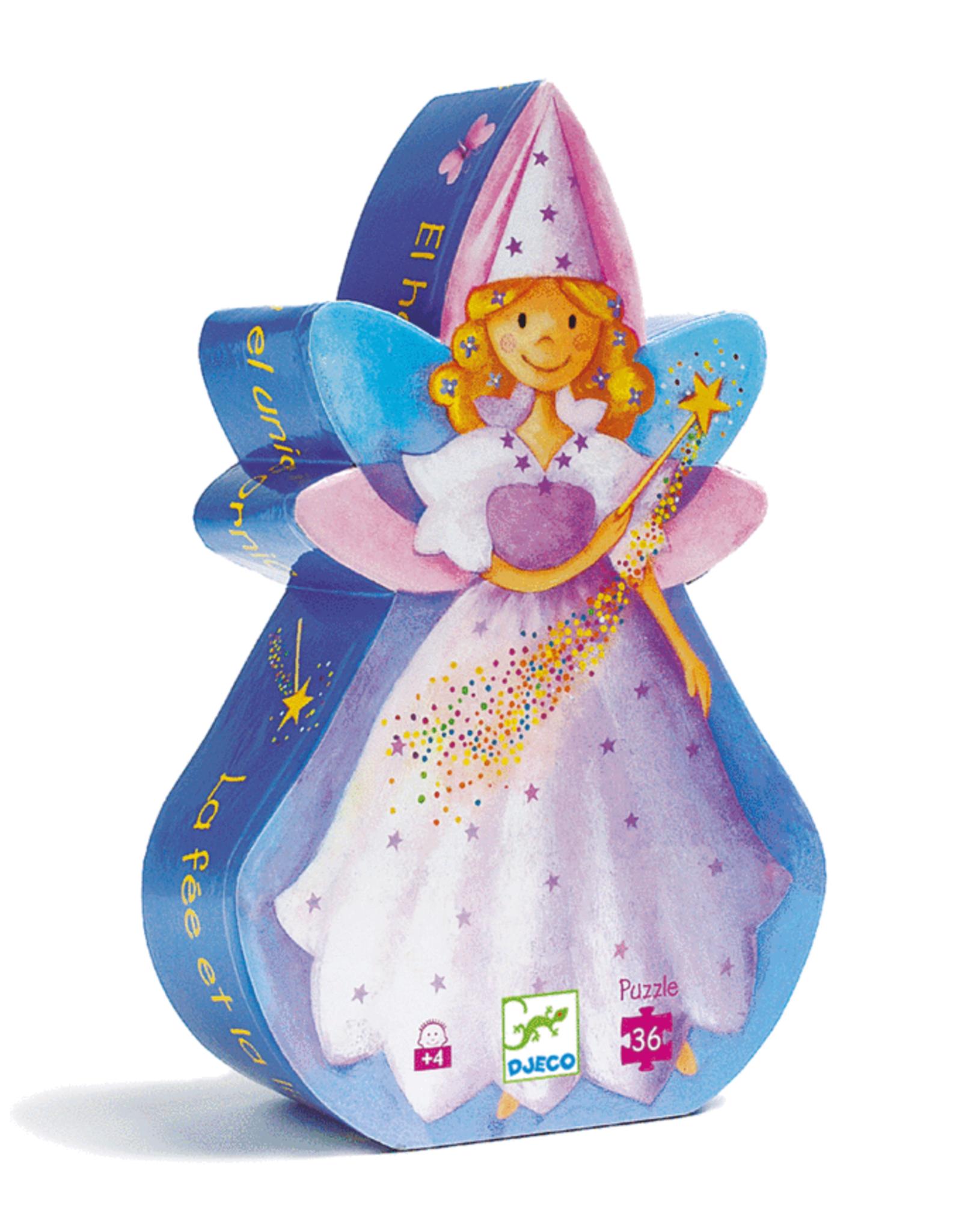 Djeco Silhouette Fairy and Unicorn