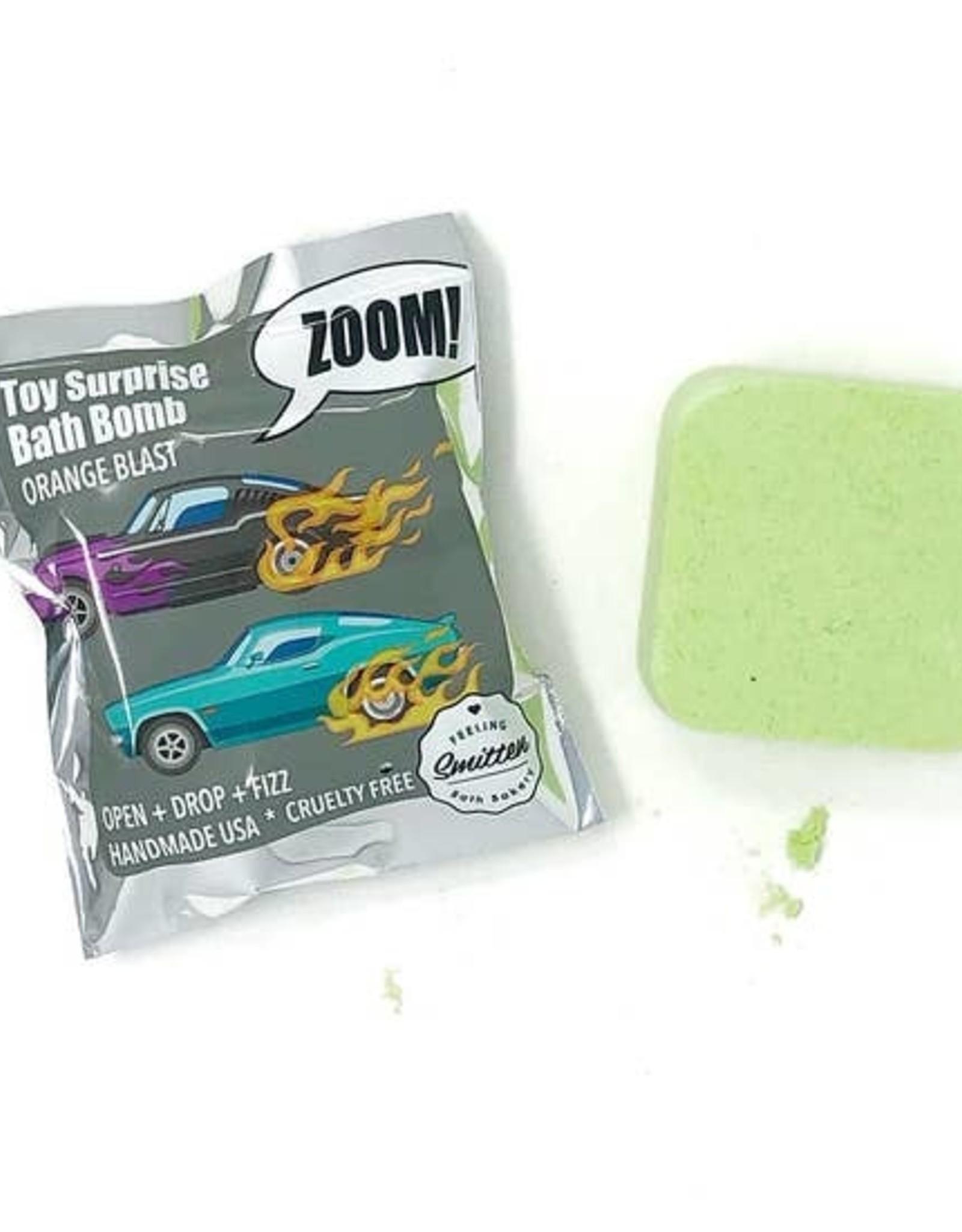 Feeling Smitten Zoom Zoom Car Surprise Bath Bombs