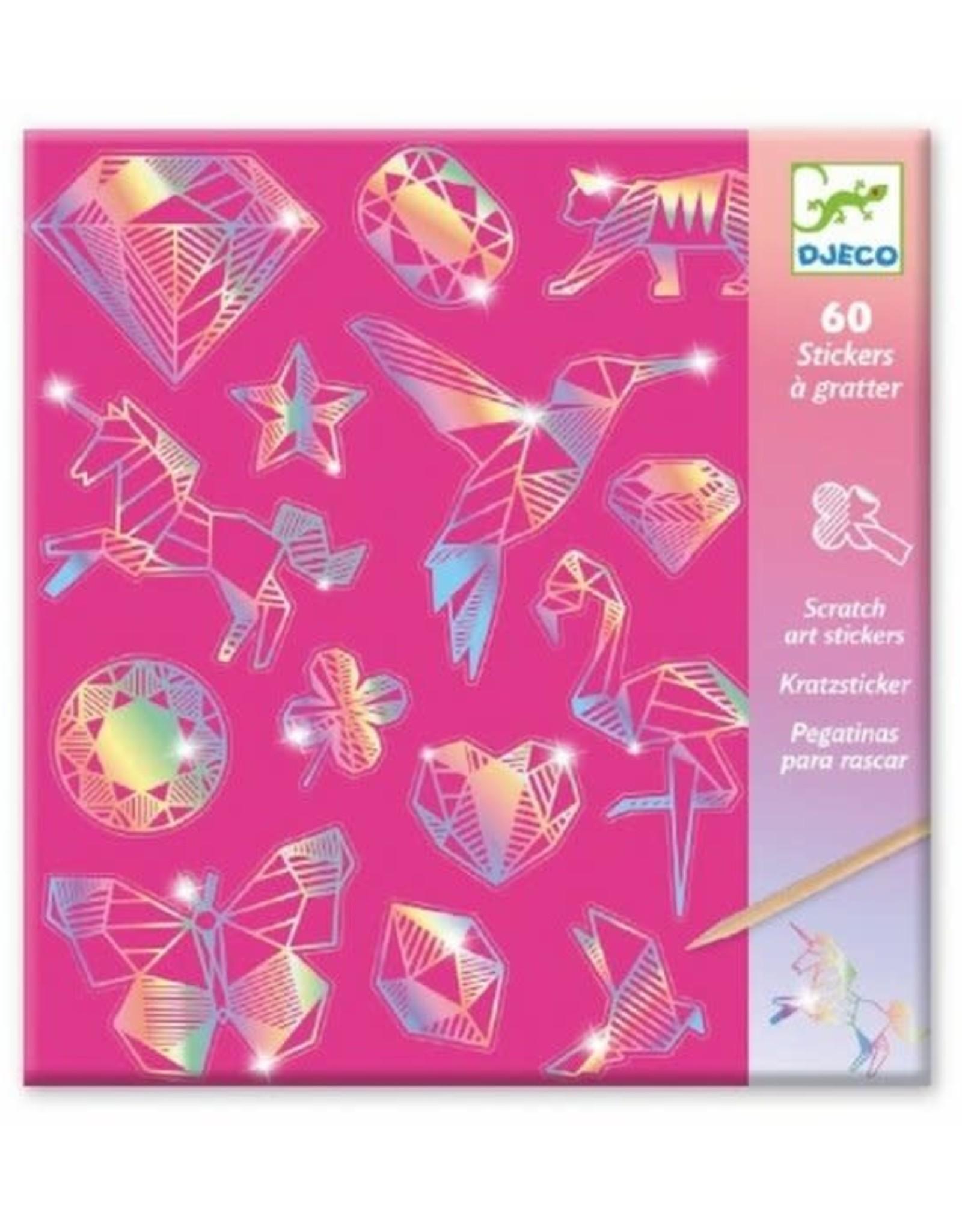 Djeco Scratch Cards Diamond