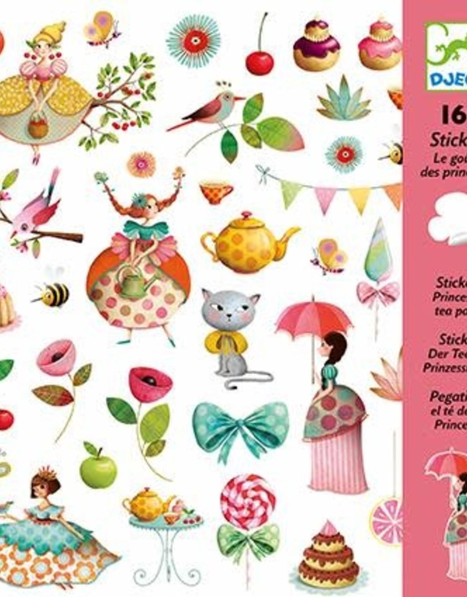Djeco Stickers Princess Tea Party