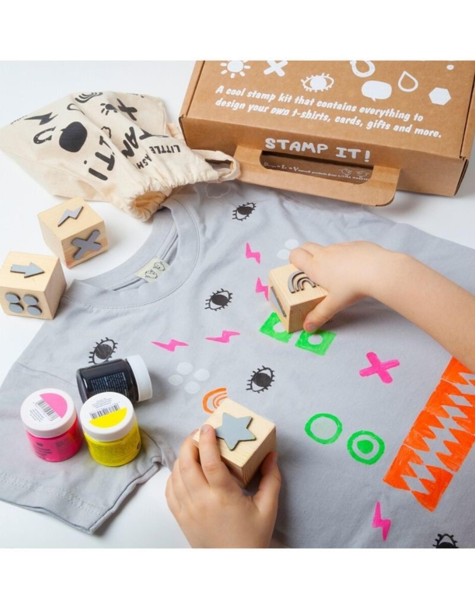 Little Mashers Stamp it Kit Shapes