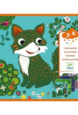 Djeco Scratch Card Country Creatures