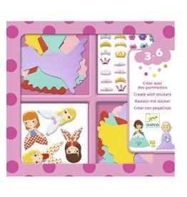 Djeco Sticker Kit I Love..
