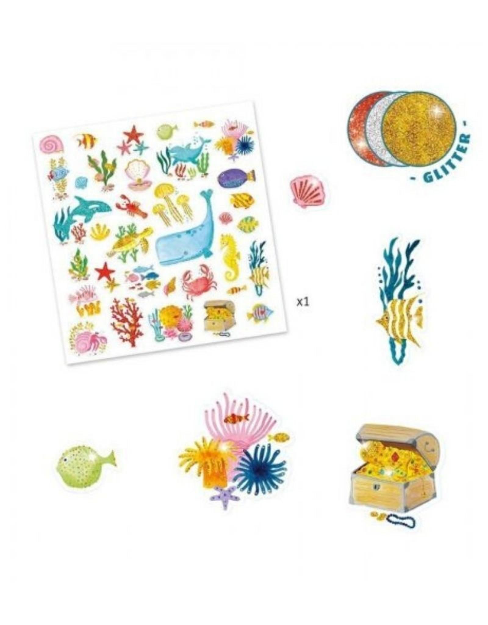 Djeco Stickers Aqua Dream