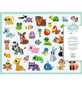 Djeco Stickers Baby Animals