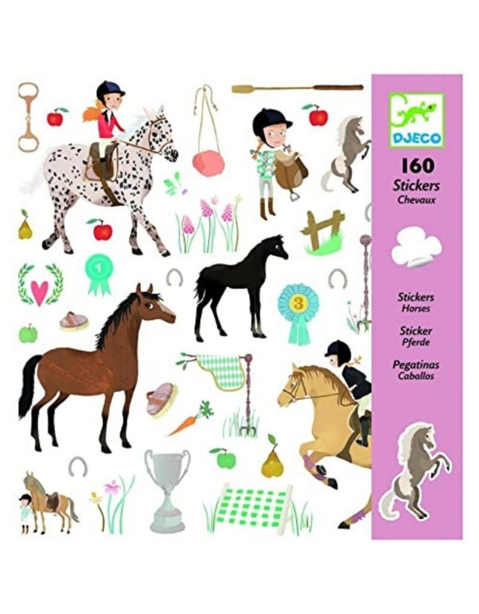 Djeco Stickers Horses