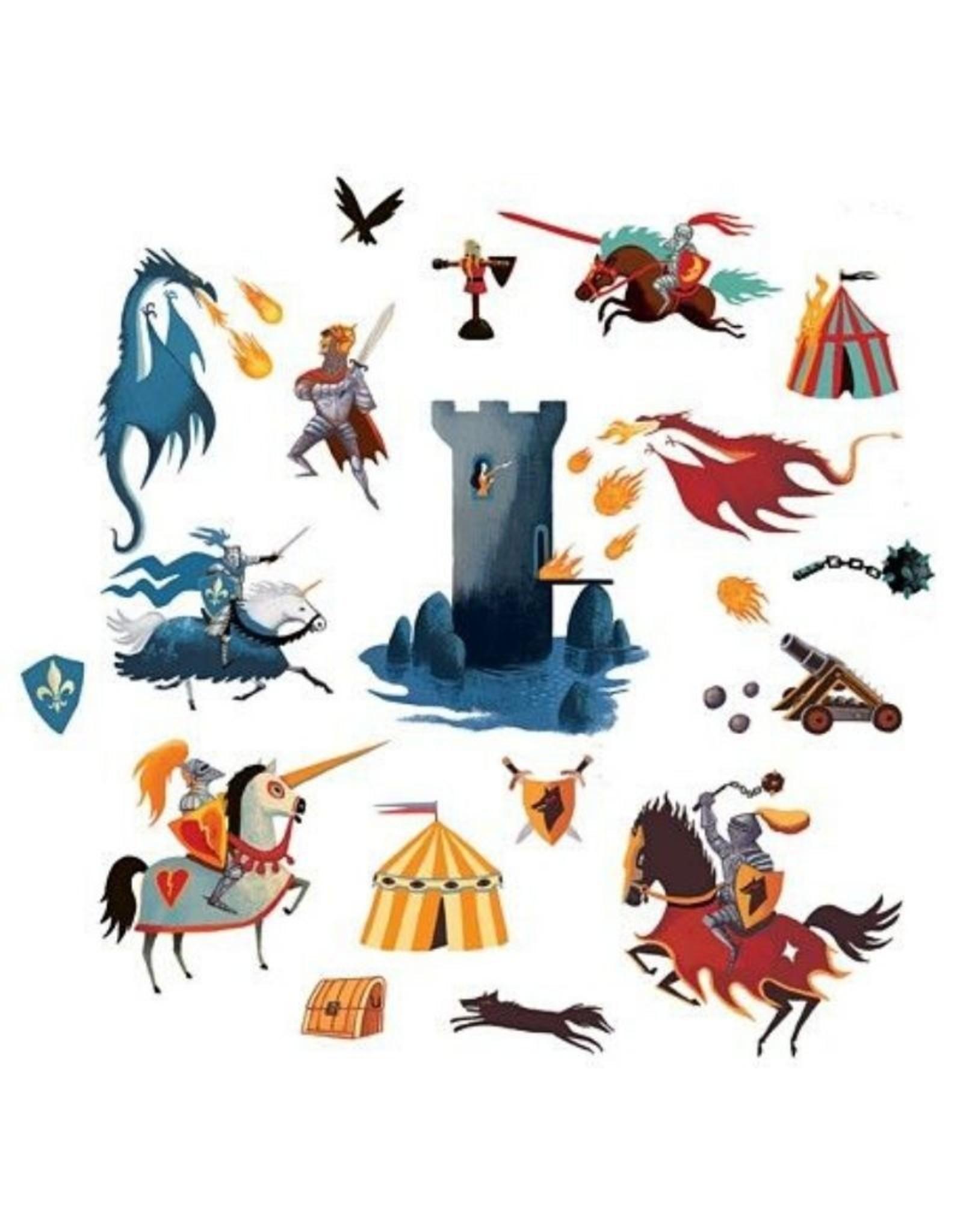 Djeco Stickers Knights