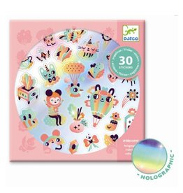 Djeco Stickers Lovely Rainbow