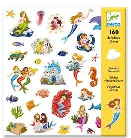 Djeco Stickers Mermaids