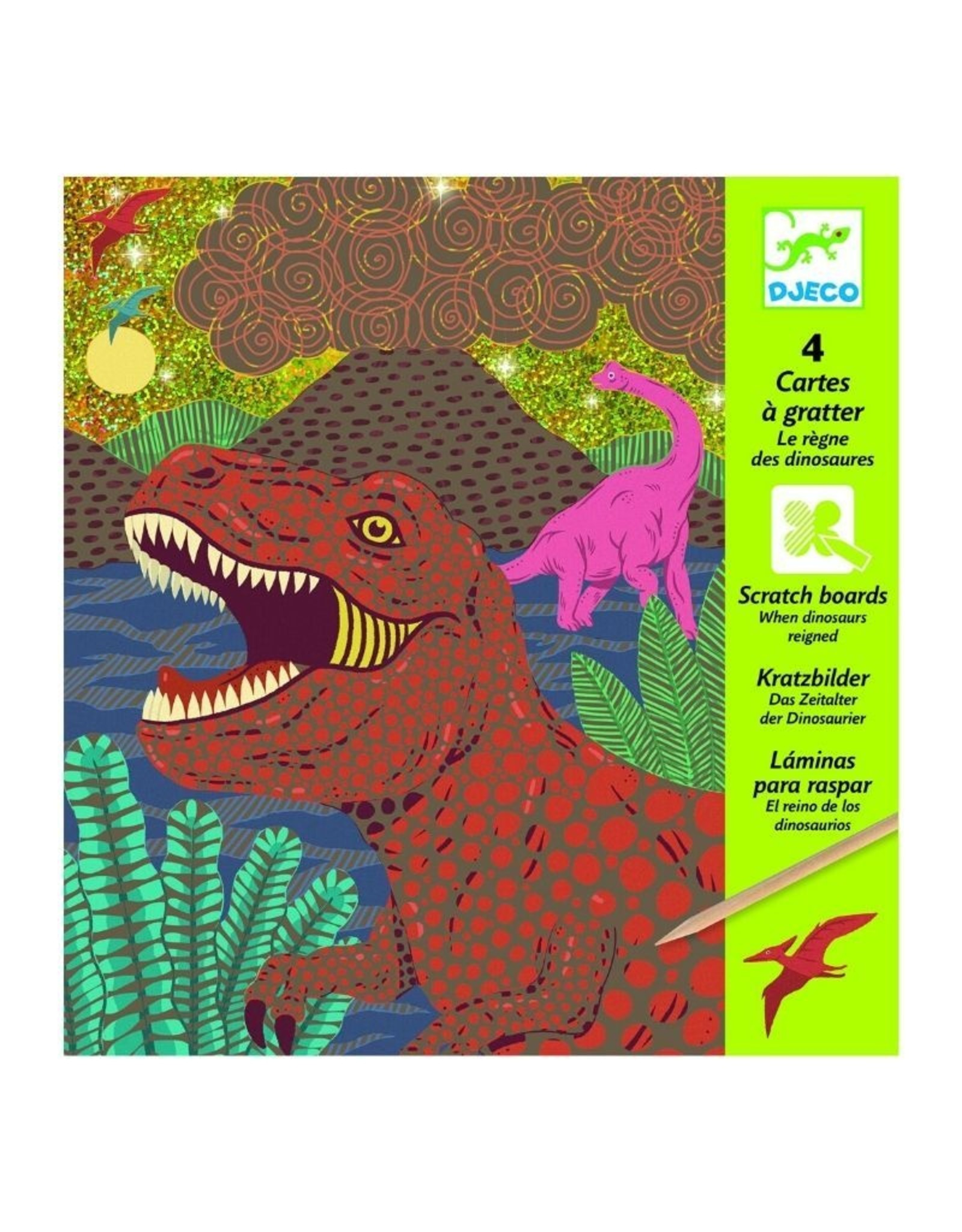 Djeco Scratch Cards