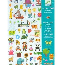 Djeco 1000 Stickers Little Ones