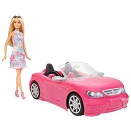 Mattel Barbie Pink Car