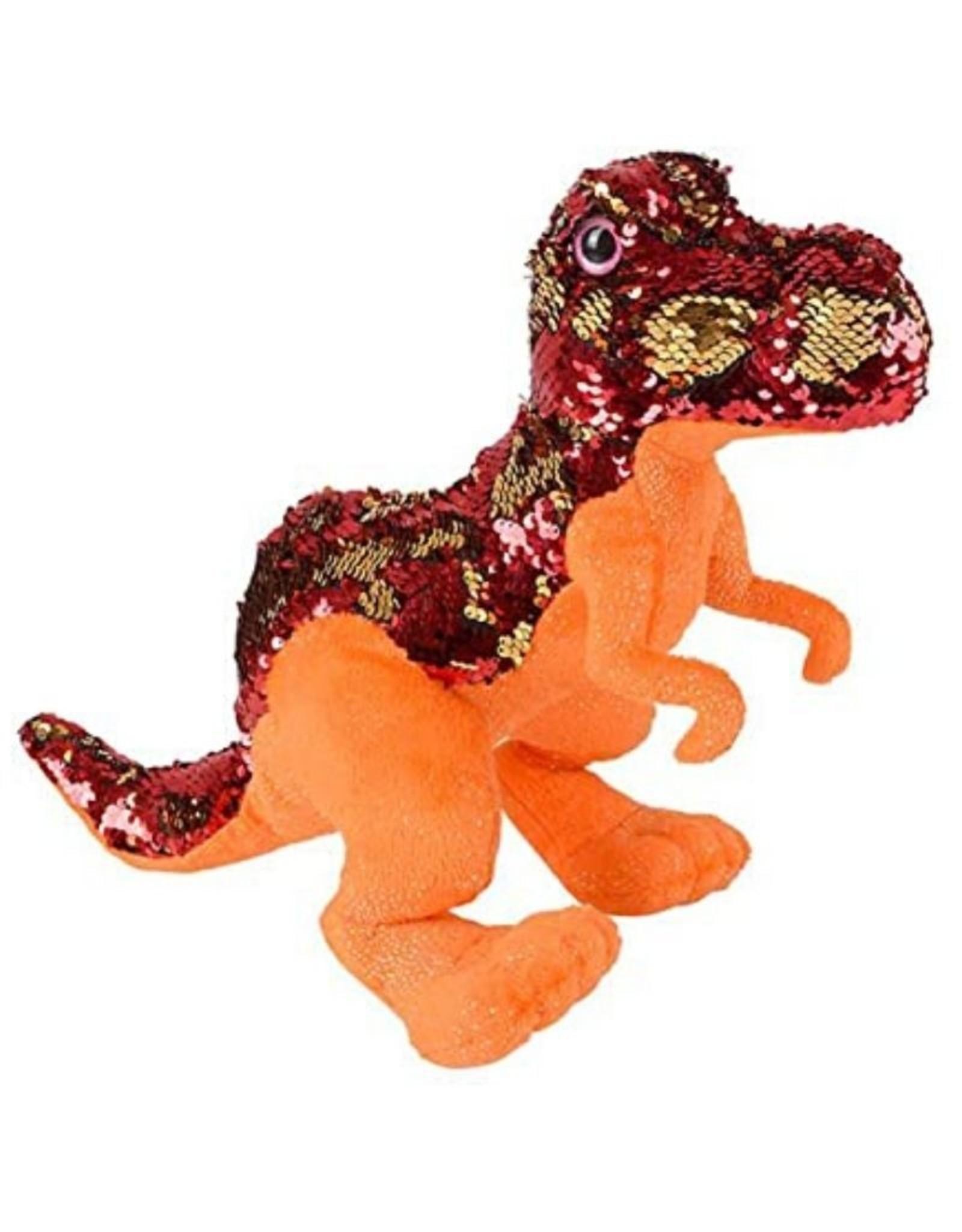 """15"""" Sequin T-Rex"""