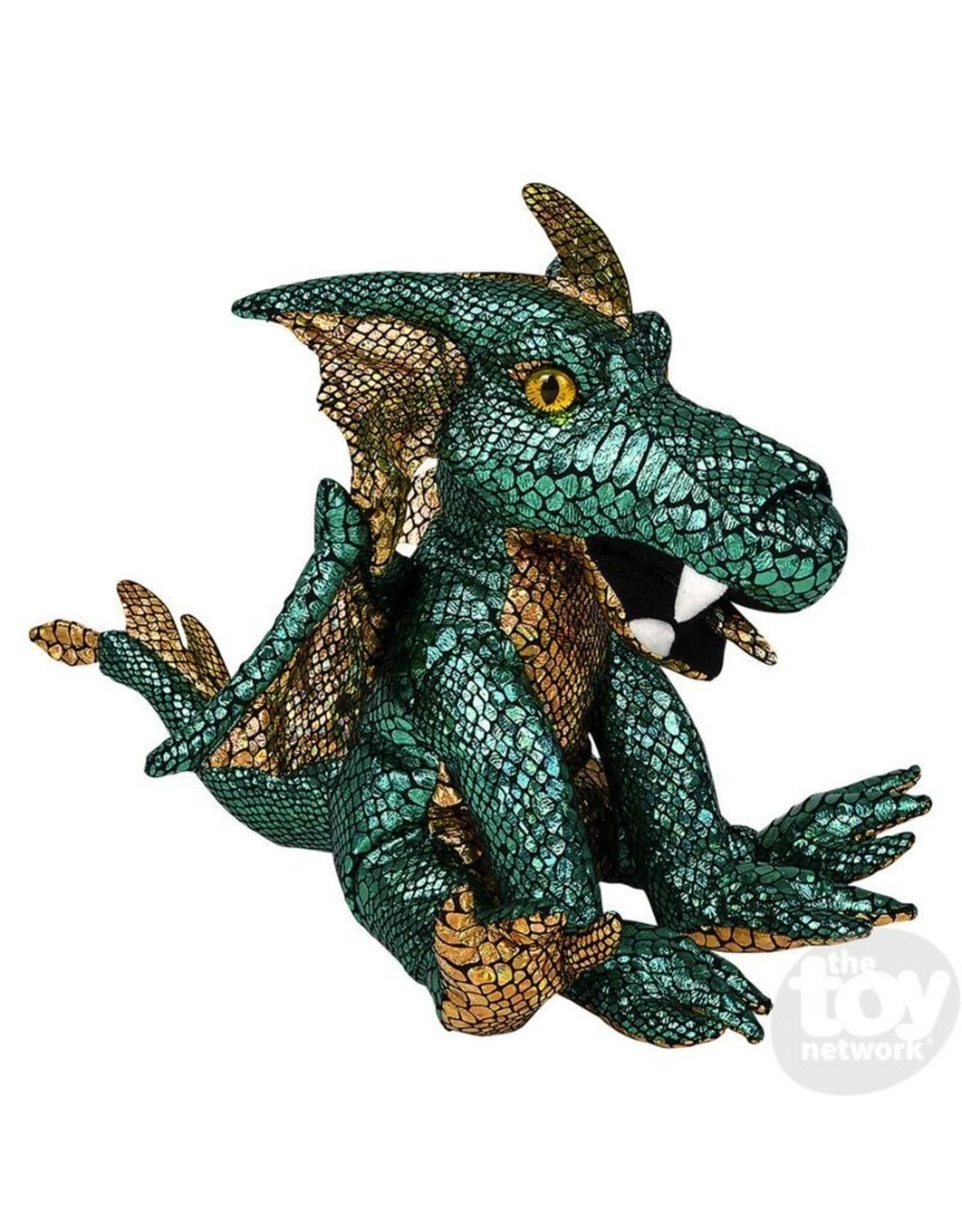 """12"""" Foil Green Dragon"""