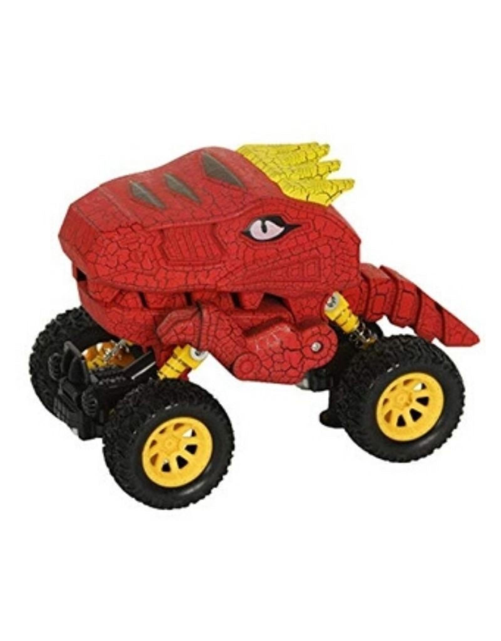 Aeromax Dino-Faurs Dinosaur Truck Red/Yellow