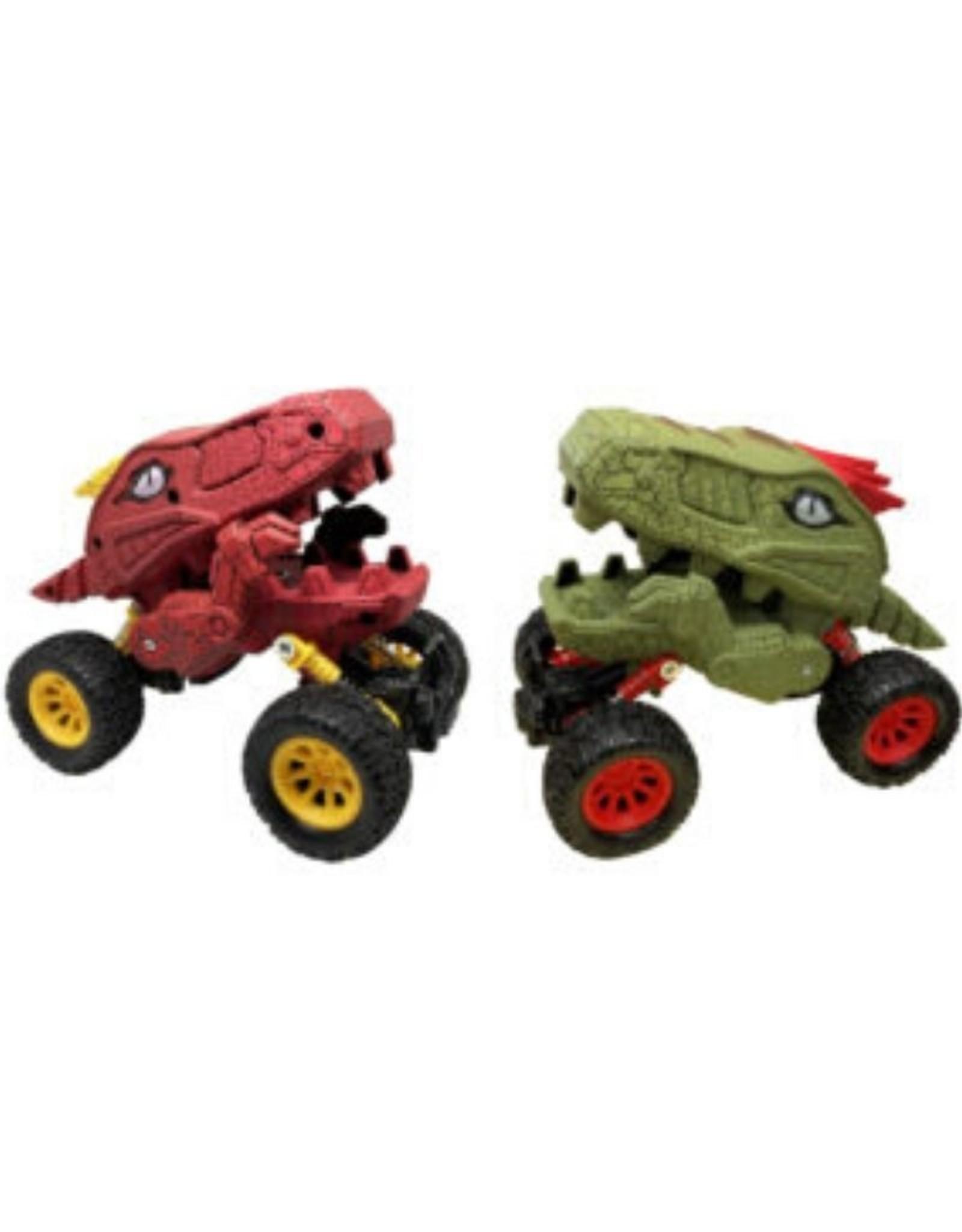 Aeromax Dino-Faurs Dinosaur Truck Green/Red