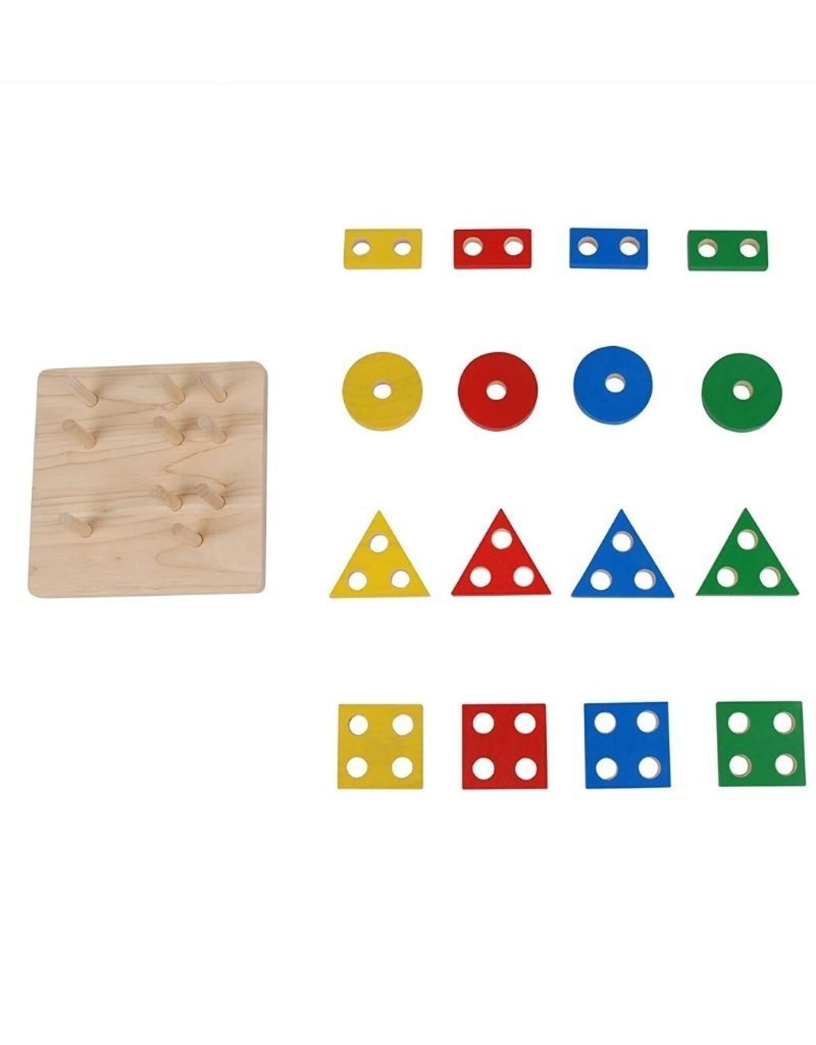 Plan Toys Geometric Sorting Board