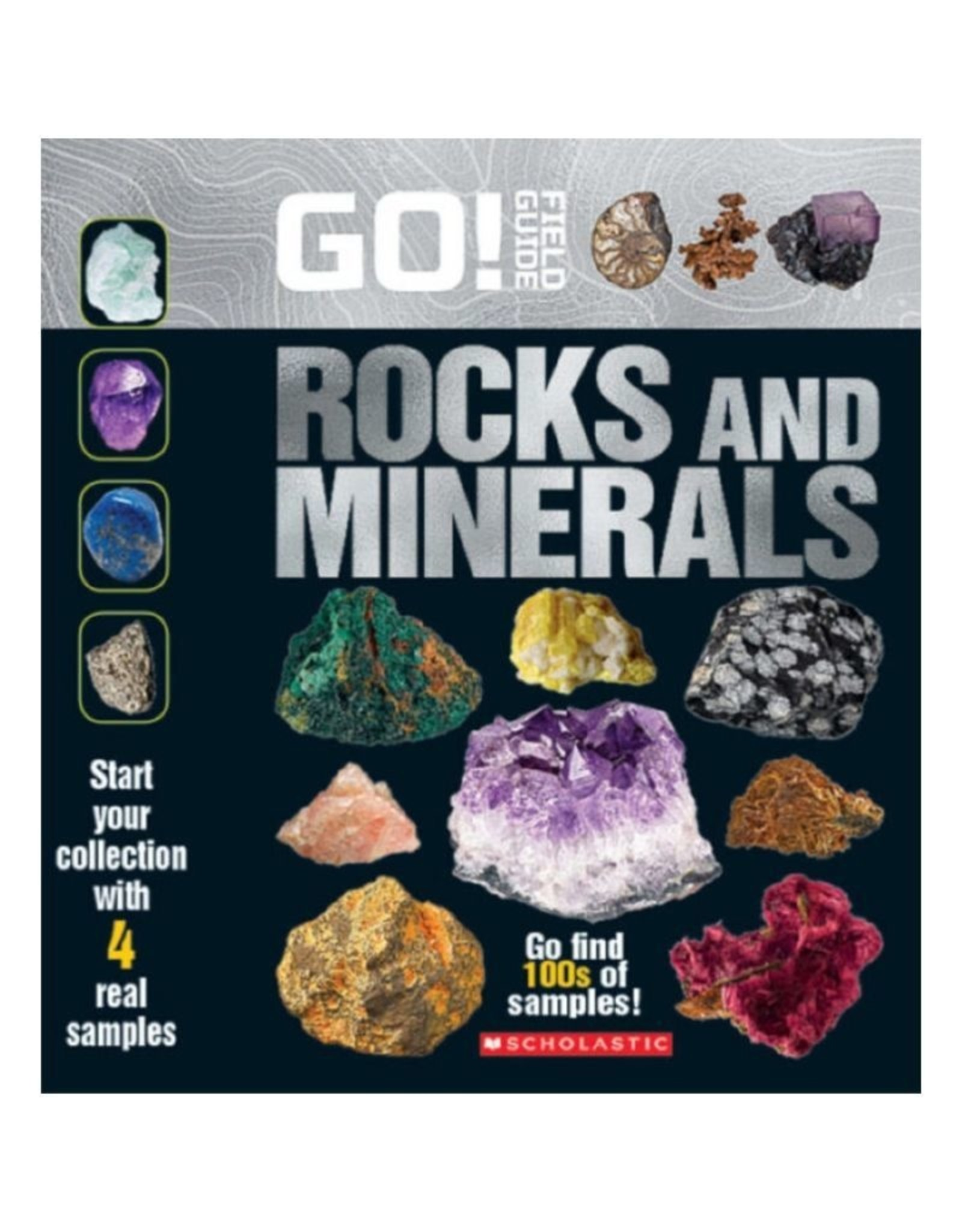 Scholastic Go! Field Guide Rocks and Minerals