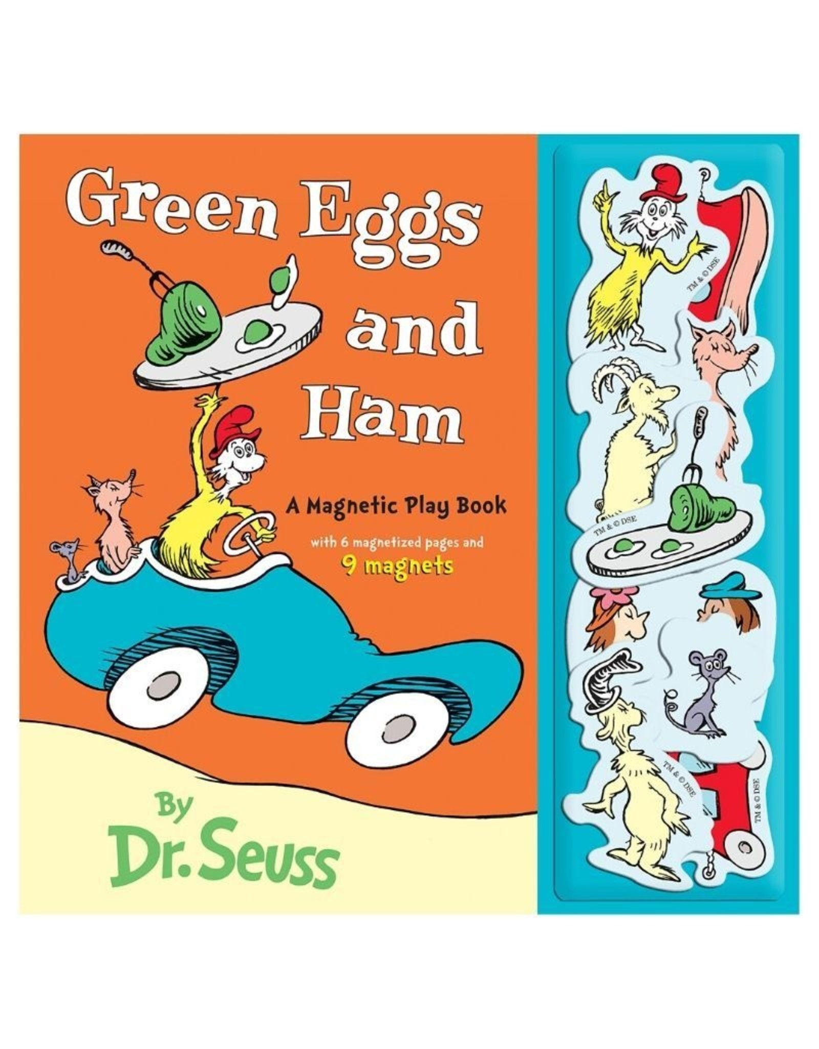 Green Eggs and Ham Magnetic