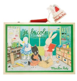 Moulin Roty I Am Working Tool Valise