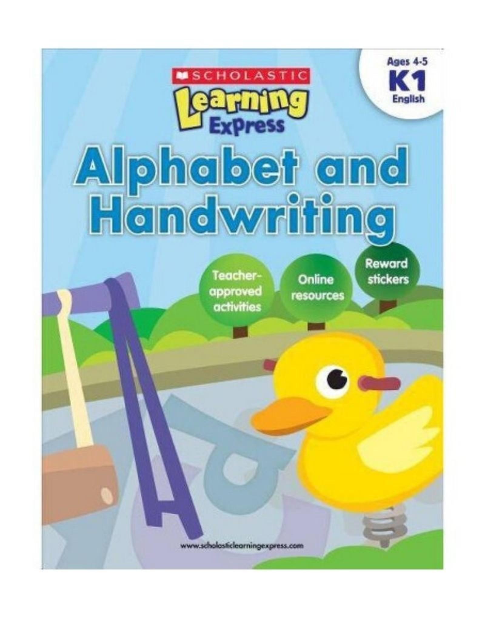 Scholastic K1 Alphabet and Handwriting