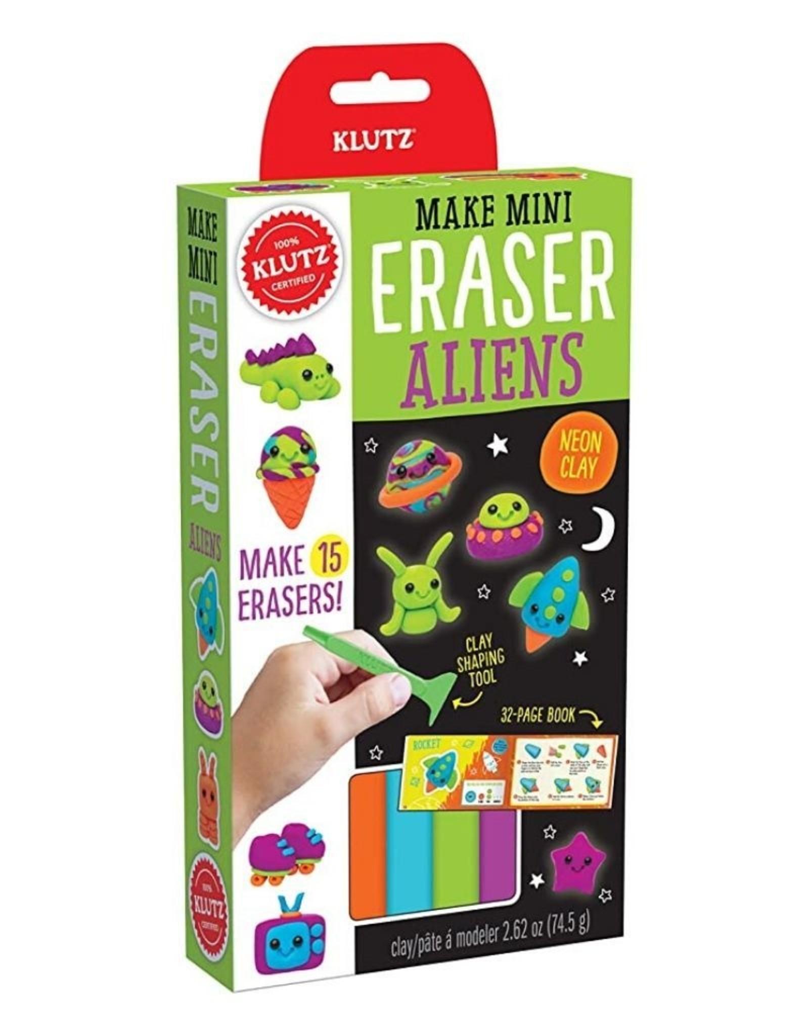 Klutz Make Mini Eraser Alien