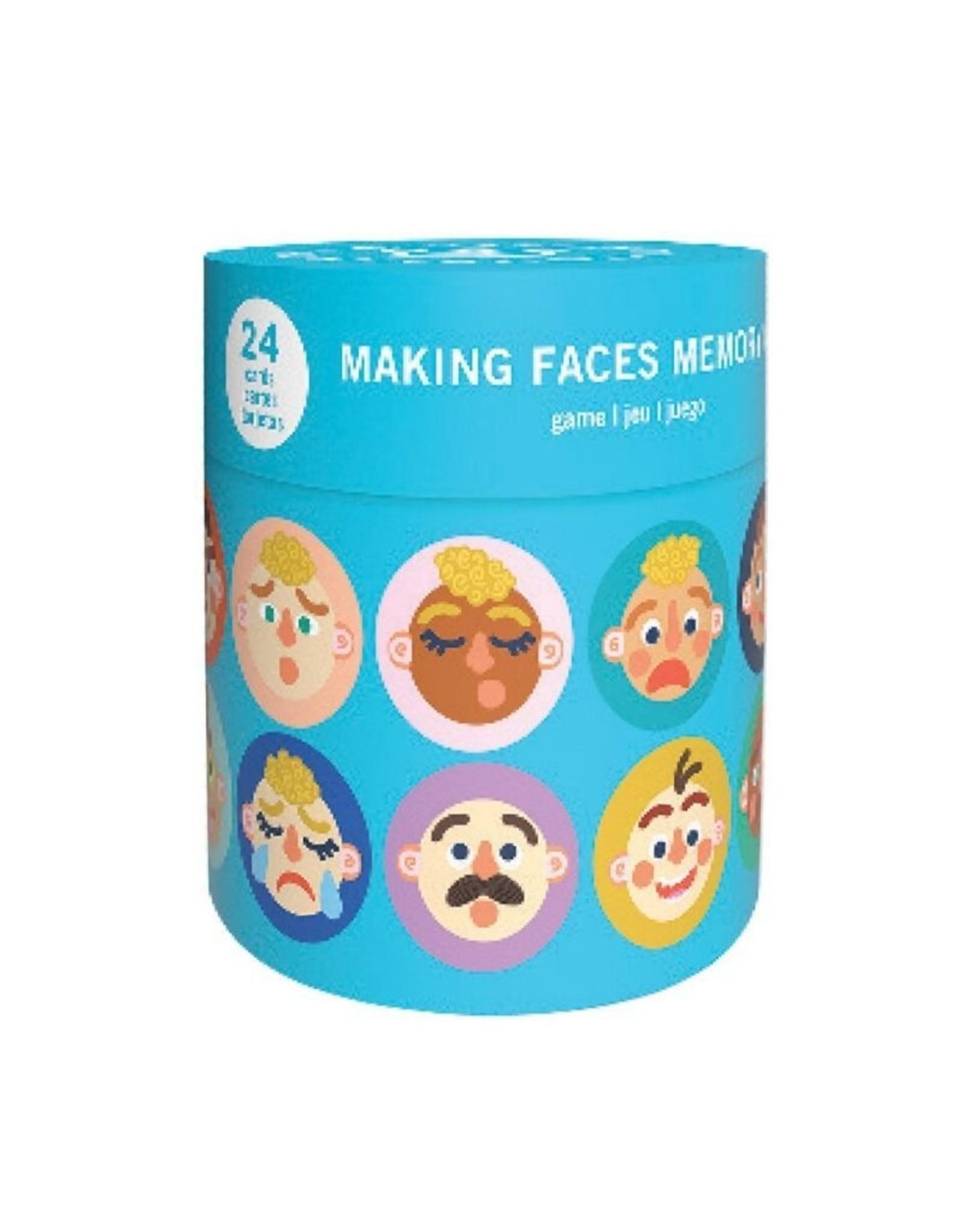 Manhattan Toy Making Faces Memory Game